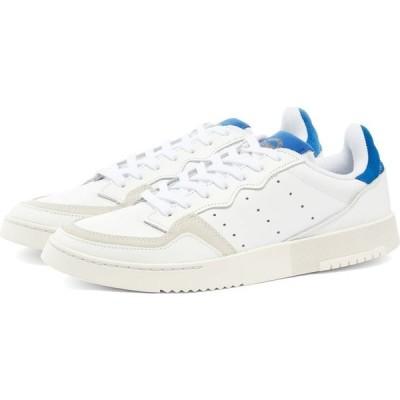 アディダス Adidas メンズ スニーカー シューズ・靴 Supercourt White/Team Royal Blue