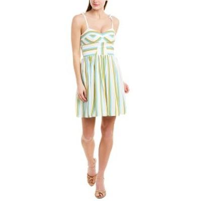 アマンダ アプリチャード レディース ワンピース トップス Amanda Uprichard A-Line Dress Verona stripe