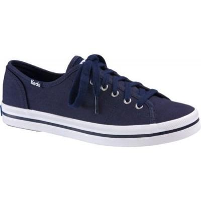 ケッズ Keds レディース スニーカー シューズ・靴 Kickstart Sneaker Navy Canvas