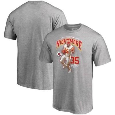 ファナティクス ブランデッド メンズ Tシャツ トップス Christian Okoye Kansas City Chiefs NFL Pro Line by Fanatics Branded Nigerian Nightmare T-Shirt