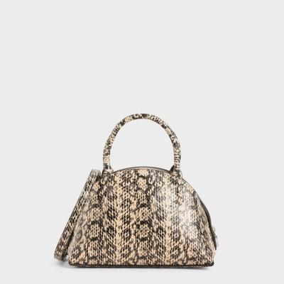 トップハンドル ドームバッグ / Top Handle Dome Bag (Beige)