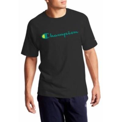 チャンピオン メンズ Tシャツ トップス Classic Graphic T-Shirt Black