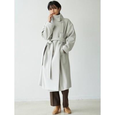 【公式】LAGUNAMOON(ラグナムーン)ワイドスタンドカラーコート