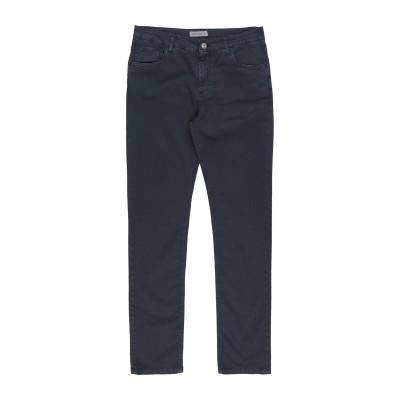 マニュエル リッツ MANUEL RITZ パンツ ダークブルー 3 コットン 98% / ポリウレタン 2% パンツ