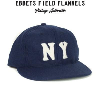 EBBETS FIELD FLANNELS BALL CAPエベッツ・フィールド・フランネル ボールキャップ[NEW YORK BLACK YANKEES1936(NAVY)]