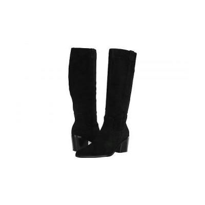 Naturalizer ナチュラライザー レディース 女性用 シューズ 靴 ブーツ ロングブーツ 27 Edit Bellamy - Black Oil Suede