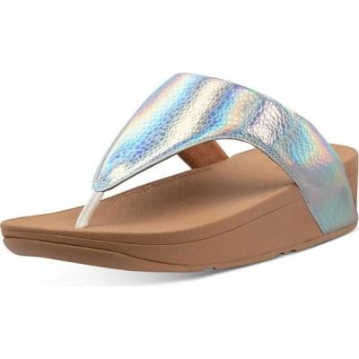 フィットフロップ FitFlop レディース サンダル・ミュール シューズ・靴 Lottie Iridescent Scale Thong Sandals Urban White