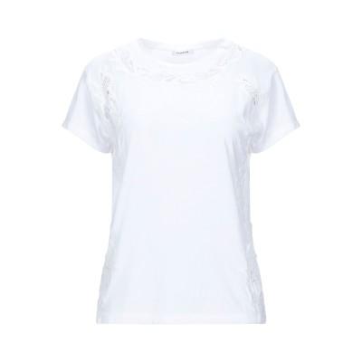パロッシュ P.A.R.O.S.H. T シャツ ホワイト M コットン 100% T シャツ