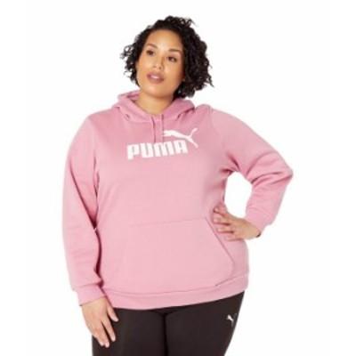 プーマ レディース パーカー・スウェット アウター Plus Size Essential Logo Hoodie Foxglove