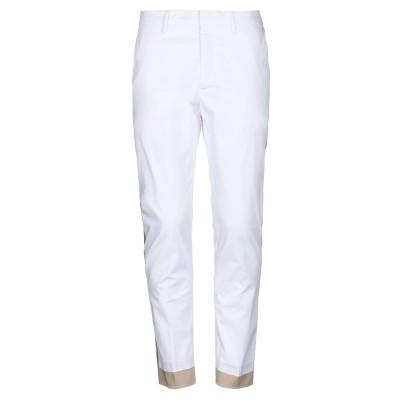 ジ・エディター THE EDITOR パンツ ホワイト 48 コットン 98% / ポリウレタン 2% パンツ