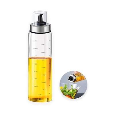 家庭用台所用品 オイルポット 醤油ポット ガラスポット 調味料ボトル オイルボトル 酢ボトルオリーブ オイルボトル 500ml