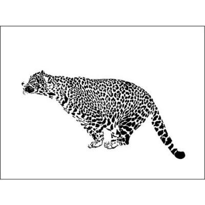 キャンバスパネル Art Panel Leopard 800x600x40mm IAP-52871 bic-7184412s1