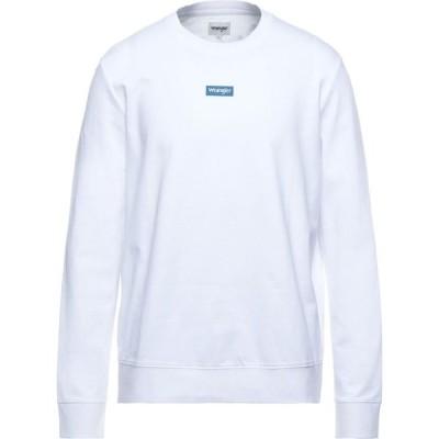 ラングラー WRANGLER メンズ スウェット・トレーナー トップス Sweatshirt White