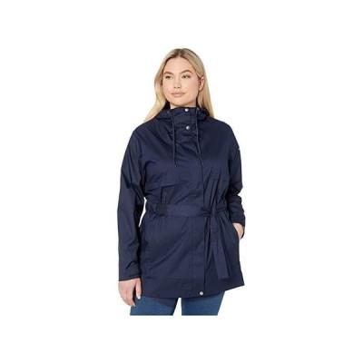 コロンビア Plus Size Pardon My Trench Rain Jacket レディース コート アウター Dark Nocturnal