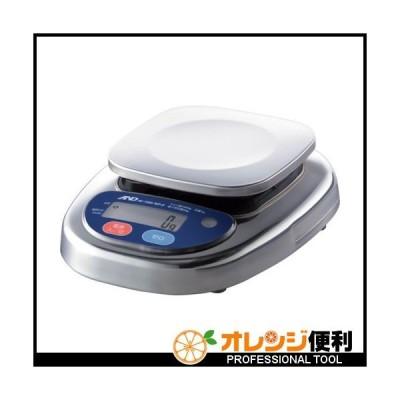 エー・アンド・デイ A&D 防塵防水デジタルはかり(検定付・4区) HL1000IWP-K-A4 【454-8680】