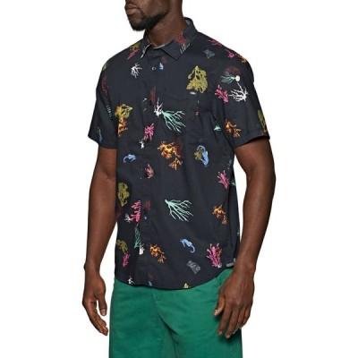 ヴァンズ Vans メンズ 半袖シャツ トップス reality coral short sleeve shirt Reality Coral