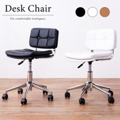 チェア 椅子 デスクチェア パーソナルチェア キャスター 合皮 レザー オフィス 黒 ブラック 白 ホワイト ブラウン