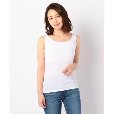 NOLLEY'S / アジャスター付タンクトップ WOMEN トップス > Tシャツ/カットソー