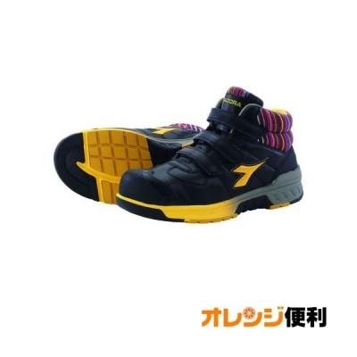 ドンケル ディアドラ 安全作業靴 ステラジェイ 黒/黄 25.0cm SJ25250 【138-8401】