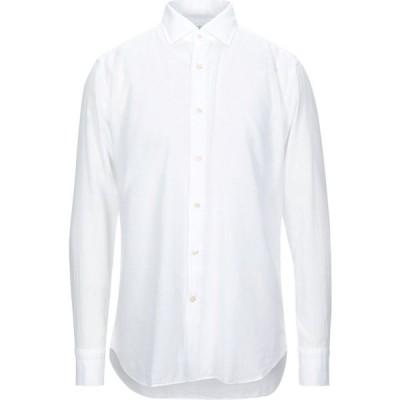 キャリバン CALIBAN 820 メンズ シャツ トップス Solid Color Shirt White