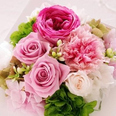 Eclaire Flower Design プリザーブドフラワー フレーム(シャーベットローズ)