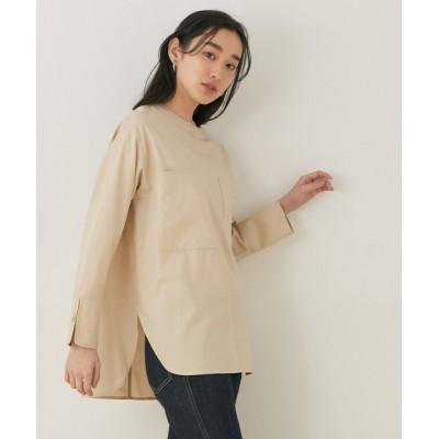 ADAM ET ROPE' / 【WEB限定】レイヤリングシャツ WOMEN トップス > シャツ/ブラウス