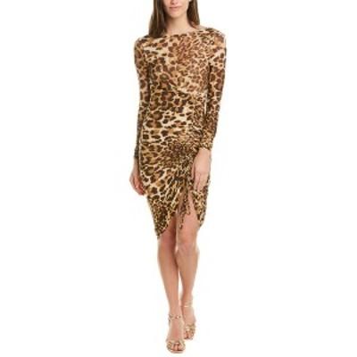 ベベ レディース ワンピース トップス bebe Midi Dress cheetah print