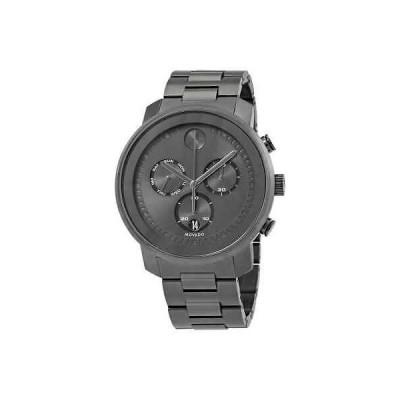 腕時計 モバード メンズ Movado Bold Chronograph Gunmetal Dial Men's Watch 3600486