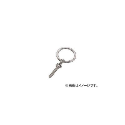 水本機械製作所/MIZUMOTO ステンレス 丸カンボルト(ブネジ) 捻子径W-3/8 B025(3787893) JAN:4982970400218