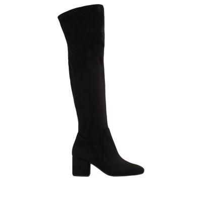 JONAK ブーツ ブラック 36 紡績繊維 ブーツ