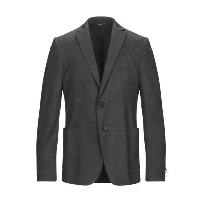 トネッロ TONELLO テーラードジャケット スチールグレー 50 バージンウール 100% テーラードジャケット