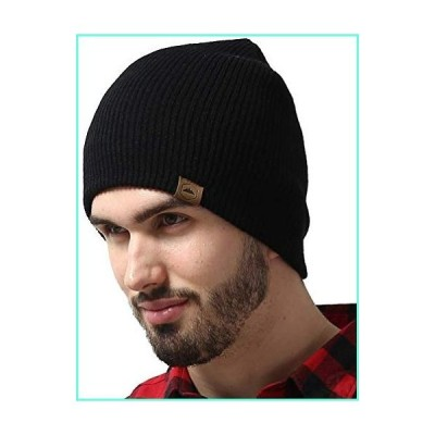 Winter Beanie Knit Hats for Men & Women - Daily Knit Ribbed Cap - Warm, Stretchy & Soft Knitted Hats - Stylish Toboggan Skull Caps for Cold