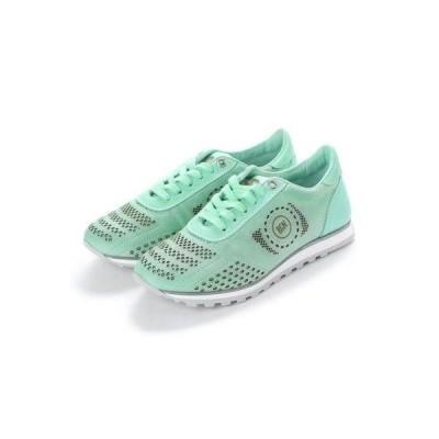 ヨーロッパコンフォートシューズ EU Comfort Shoes BCN スニーカー(B-1119) (ライトグリーン)