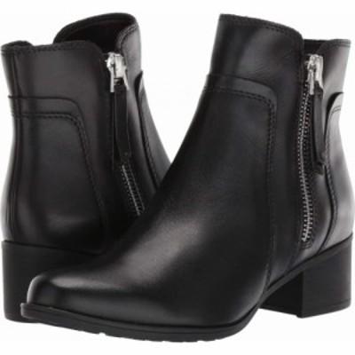 ナチュラライザー Naturalizer レディース ブーツ シューズ・靴 Dorrit Black Waterproof Leather