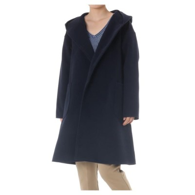 (AZUL by moussy/アズールバイマウジー)TR HOODIE COAT/レディース NVY