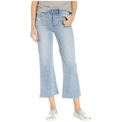 サムエデルマン レディース デニムパンツ ボトムス Chelsea High-Rise Wide Leg Crop Jeans in Louie