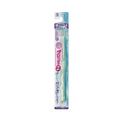 フレッシュ 歯ブラシ 先端スパイラル毛 ふつう 1本入 デンタルプロ