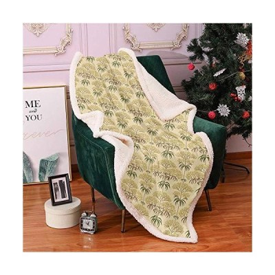 "SeptSonne Floral Sherpa Fleece Blanket 60""X80"",Sephia Tone Effect Retro Style Illustration of Flourishing Flowers and Spiky Leaves Digital P"