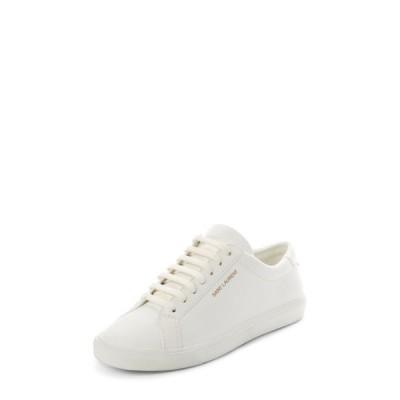 イヴ サンローラン SAINT LAURENT レディース スニーカー ローカット シューズ・靴 Andy Low Top Sneaker White