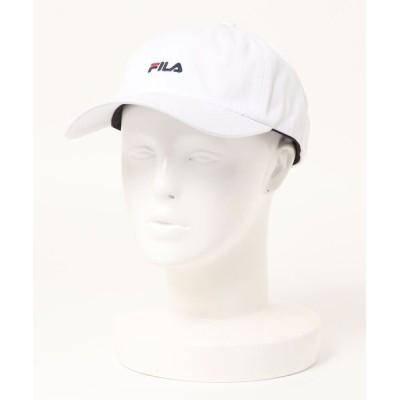 LB/S / 【FILA/フィラ】スモールロゴローキャップ ワンポイント刺繍 WOMEN 帽子 > キャップ