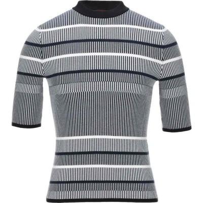 ヒューゴ ボス HUGO HUGO BOSS メンズ ニット・セーター トップス Sweater Dark blue