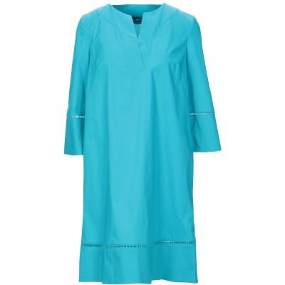 ツインセット シモーナ バルビエリ TWINSET ミニワンピース&ドレス ディープジェード 40 コットン 96% / ポリウレタン 4% ミニワ