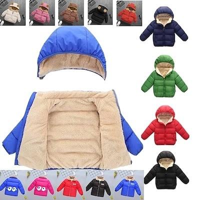 秋冬品質保証 軽量 暖かい 子供用ダウンジャケット ダウン 男女兼用防寒流行90-130cm 6色