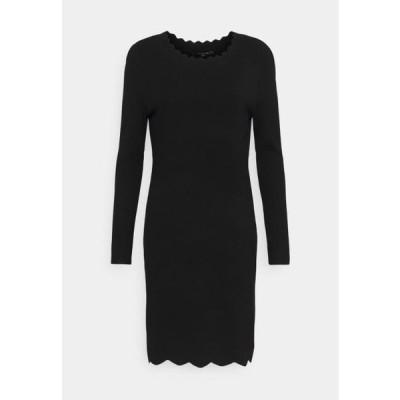 カンマ レディース ファッション Jumper dress - black