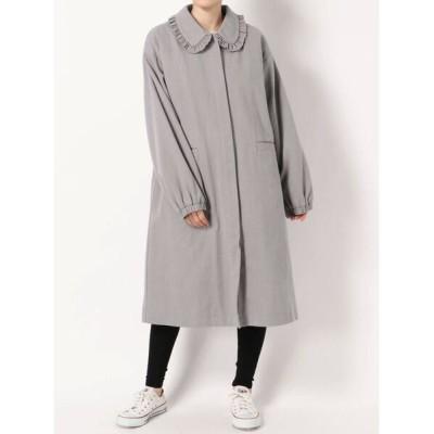 merry jenny / ステンカラーツイルジャケット WOMEN ジャケット/アウター > テーラードジャケット