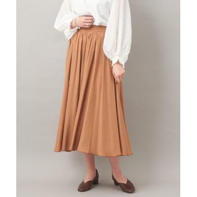 【1枚でフェミニン】ギャザーボリュームスカート