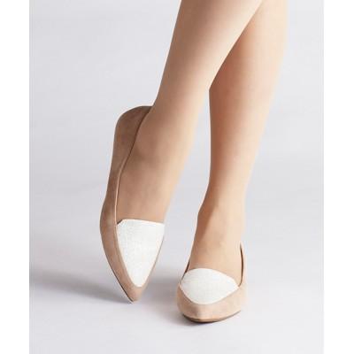 ANDEX shoes product / coca / コカ ポインテッドトゥ ローヒール パンプス 118002 WOMEN シューズ > パンプス
