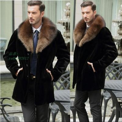 ファーコート 防風 フェイクファー メンズ 人気 ショートコート 暖かい 冬物 上質 お洒落 ジャケット 防寒 毛皮コート 長袖 コート上着 アウター カジュアル