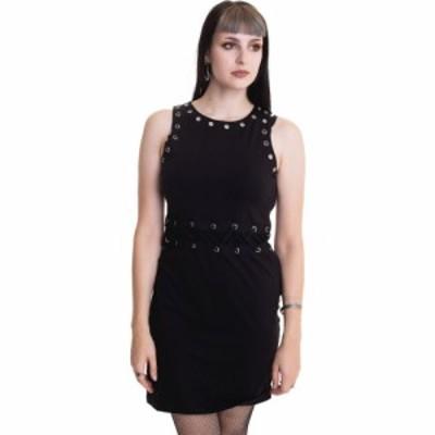 ケミカルブラック Chemical Black レディース ワンピース ワンピース・ドレス - Vaisy Black - Dress black
