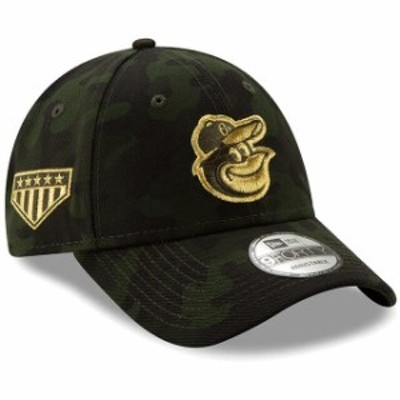 New Era ニュー エラ スポーツ用品  Baltimore Orioles New Era 2019 MLB Armed Forces Day 9FORTY Adjustable Hat - Camo